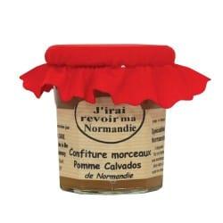 Confiture pomme calvados JRMN