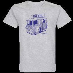 T-shirt Gris Type H  Riva Bella