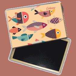 Magnet Banc de Poisson Cabourg